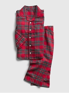 babyGap Flannel Plaid PJ Set
