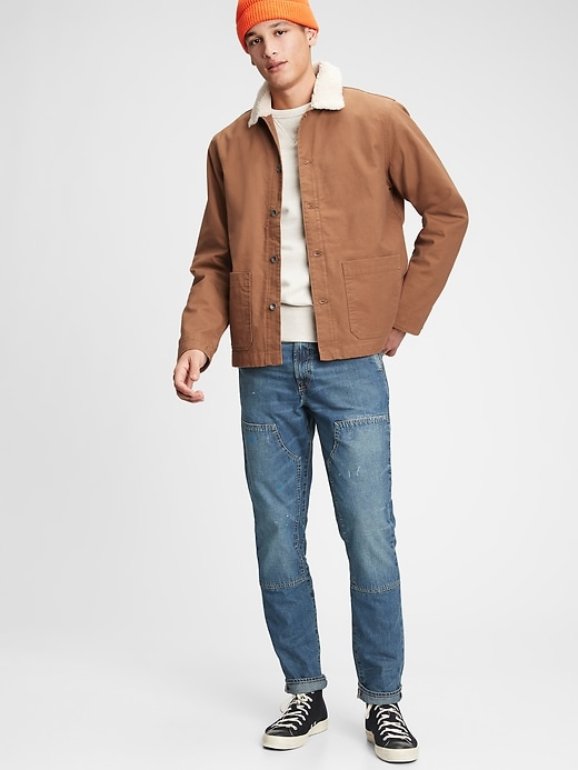 Gap Workforce Collection Men's Sherpa Jacket