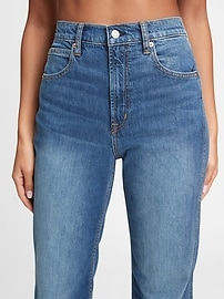 High Rise Vintage Flare Jeans With Washwell&#153