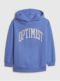 Teen Oversized Optimist Hoodie