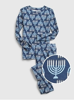 Kids Hanukkah PJ Set