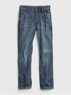 Kids Straight Carpenter Jeans