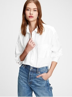 Big Shirt in Poplin