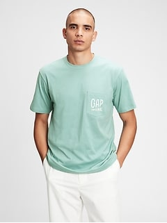 Gap Logo Pocket T-Shirt