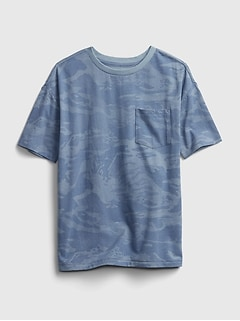 Teen Organic Pocket T-Shirt