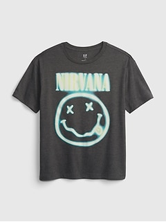 Teen | Band Nirvana Recycled T-Shirt