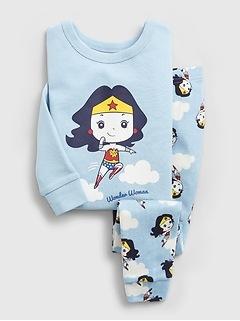 babyGap   DC™ Wonder Woman 100% Organic Cotton PJ Set