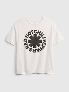 Teen | Red Hot Chili Peppers Graphic Organic Oversized T-Shirt