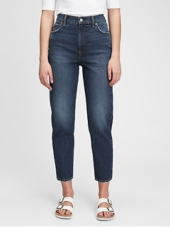 Sky High Rise Mom Jeans With Washwell™