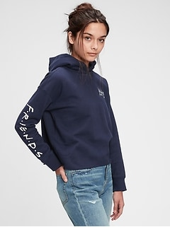 Teen | Friends Cropped Hoodie