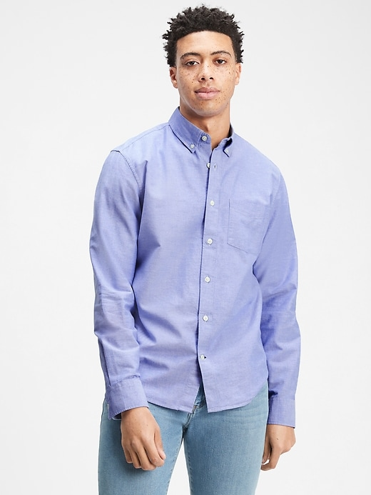 Gap Oxford T-Shirt in Untucked Fit