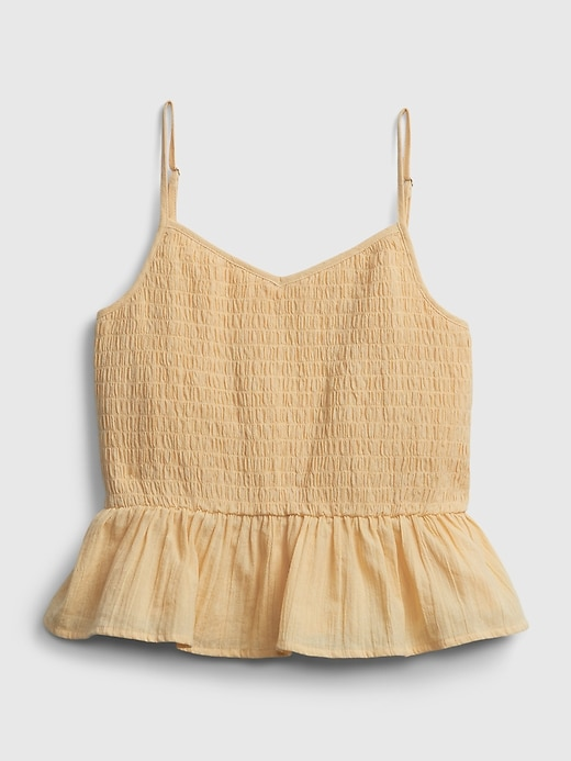Teen 100% Organic Cotton Cinched Cami