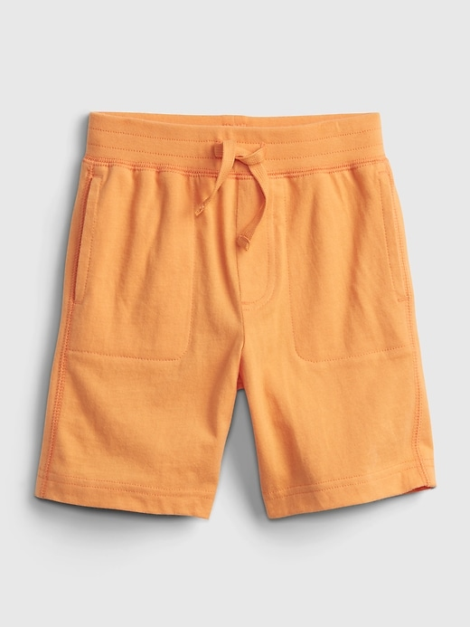 Toddler 100% Organic Cotton Mix and Match Pull-On Shorts