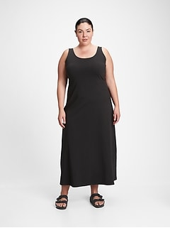 Sleeveless Scoopneck Maxi Dress