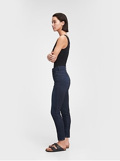 High Rise Skinny Jeans with Secret Smoothing Pockets With Washwell™