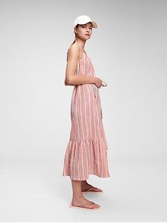 Tiered Cami Midi Dress