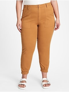 Girlfriend Utility Joggers with Washwell™
