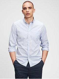 Performance Poplin Shirt In Untucked Fit