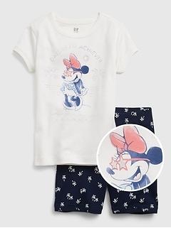 GapKids | Disney Minnie Mouse 100% Organic Cotton Graphic PJ Set