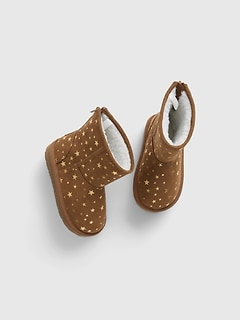 Toddler Cozy Star Boots