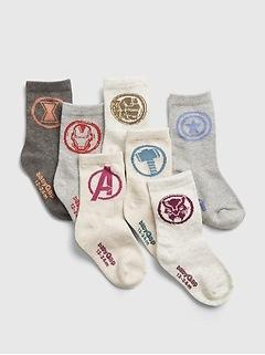 babyGap | Marvel Avengers Socks (7-Pack)