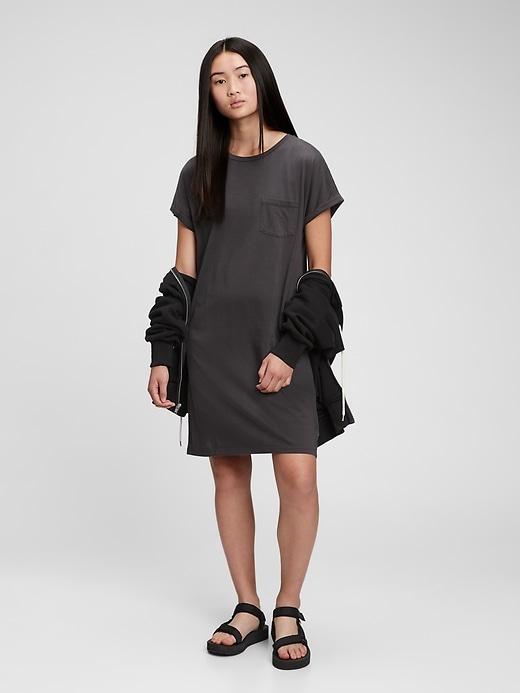 Gap Teen 100% Organic Cotton Oversized T-Shirt Dress
