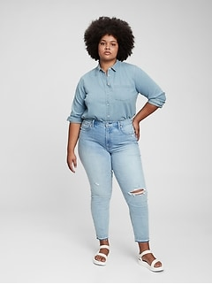 100% Organic Cotton Perfect Denim Shirt
